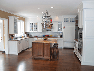 kitchen of award winning home