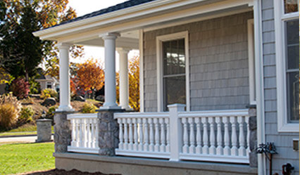 stylish porch railings